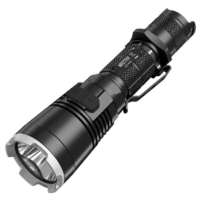 Nitecore MH27UV oplaadbare LED-zaklamp met UV-lamp