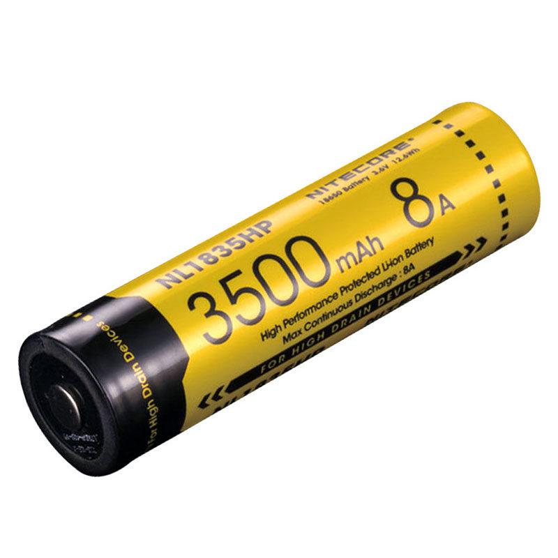 Nitecore NL1835HP batterij 3500mAh