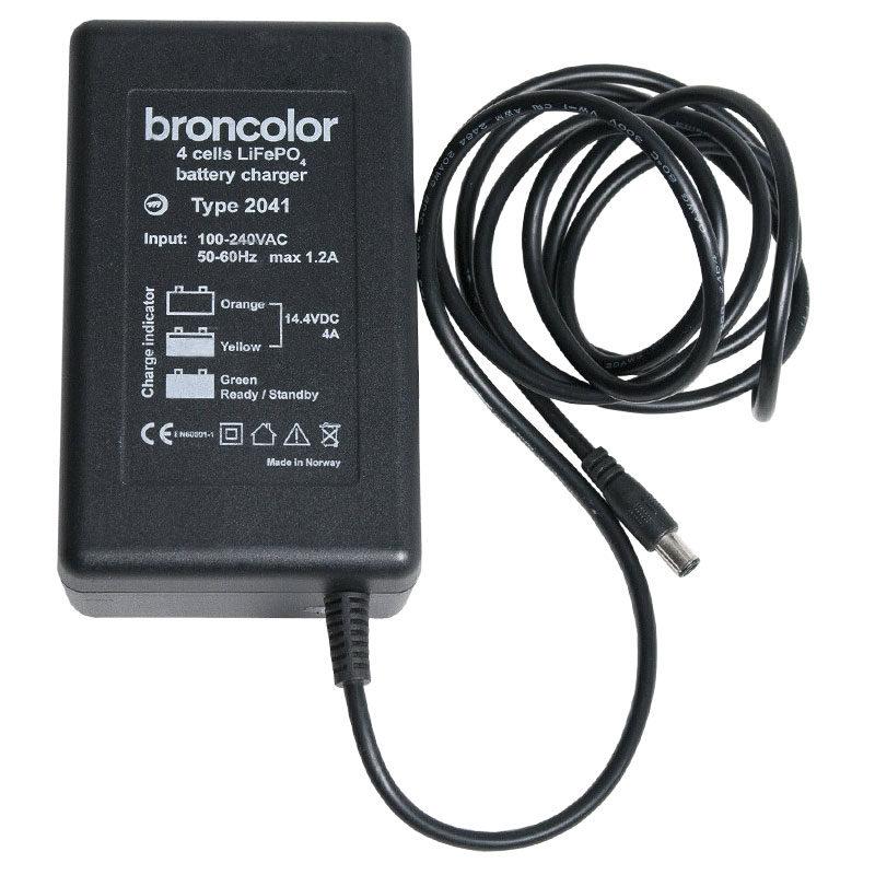 Broncolor Lader voor Mobil A2R en A2L met rechargeable lithium batterij
