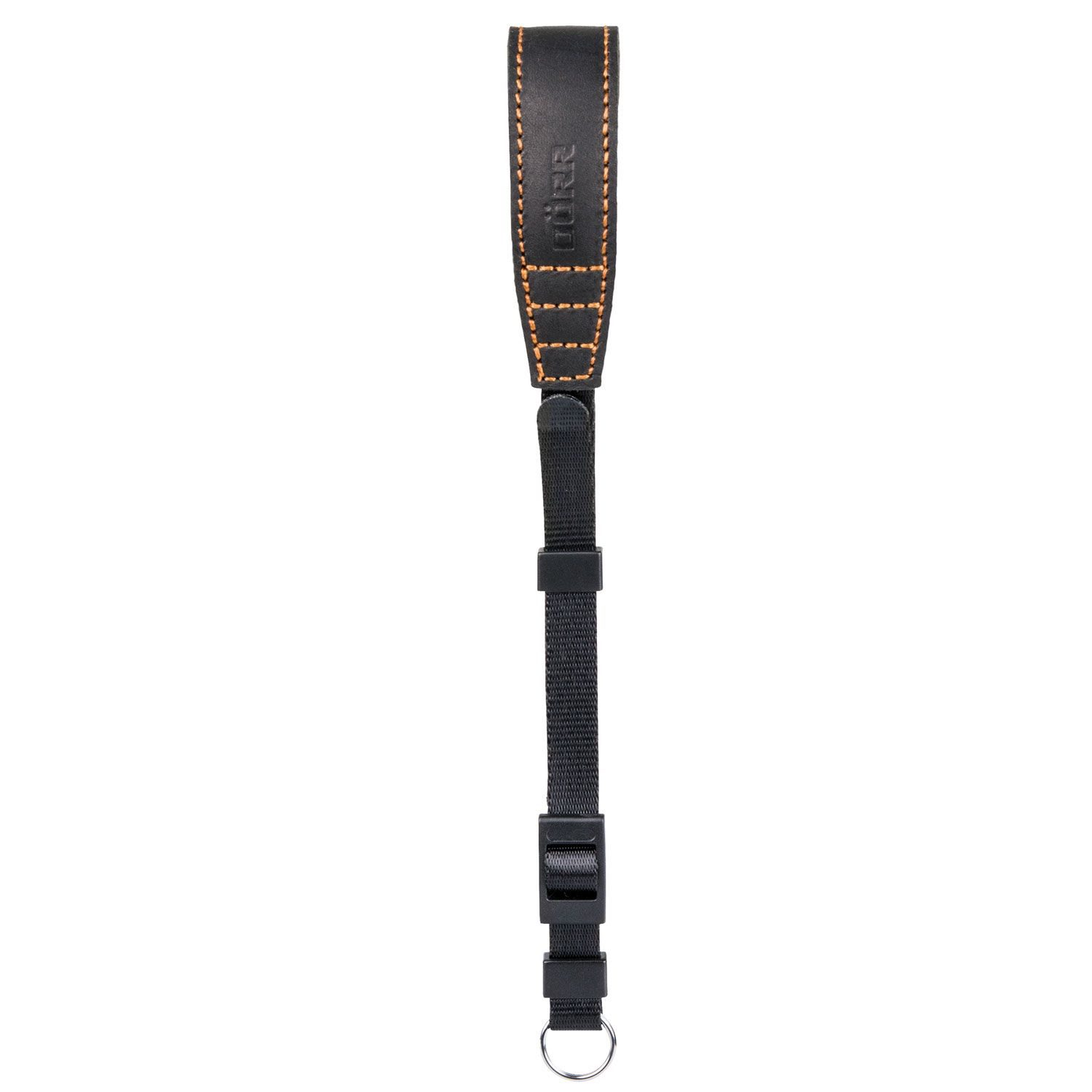 Dorr Camera Wrist Strap Root Leather 25x2cm Black