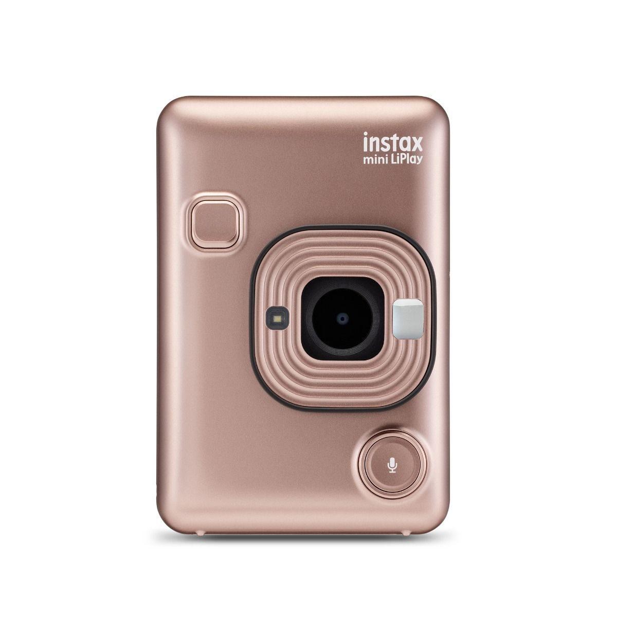 Fujifilm Instax Mini Liplay camera Blush Gold