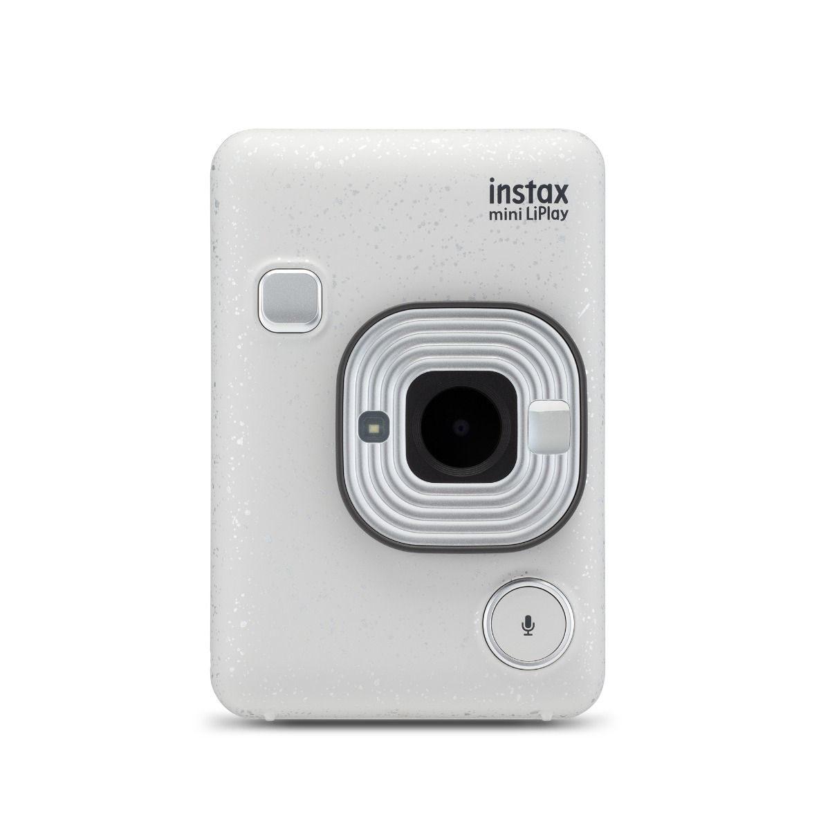 Fujifilm Instax Mini Liplay camera Stone White