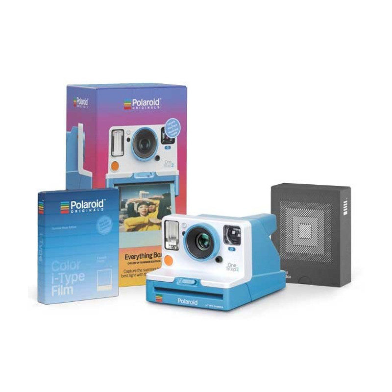 Polaroid OneStep 2 VF instant camera Blauw Everything Box