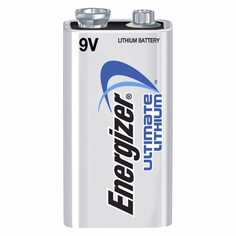 Energizer Ultimate Lithium 9V batterij