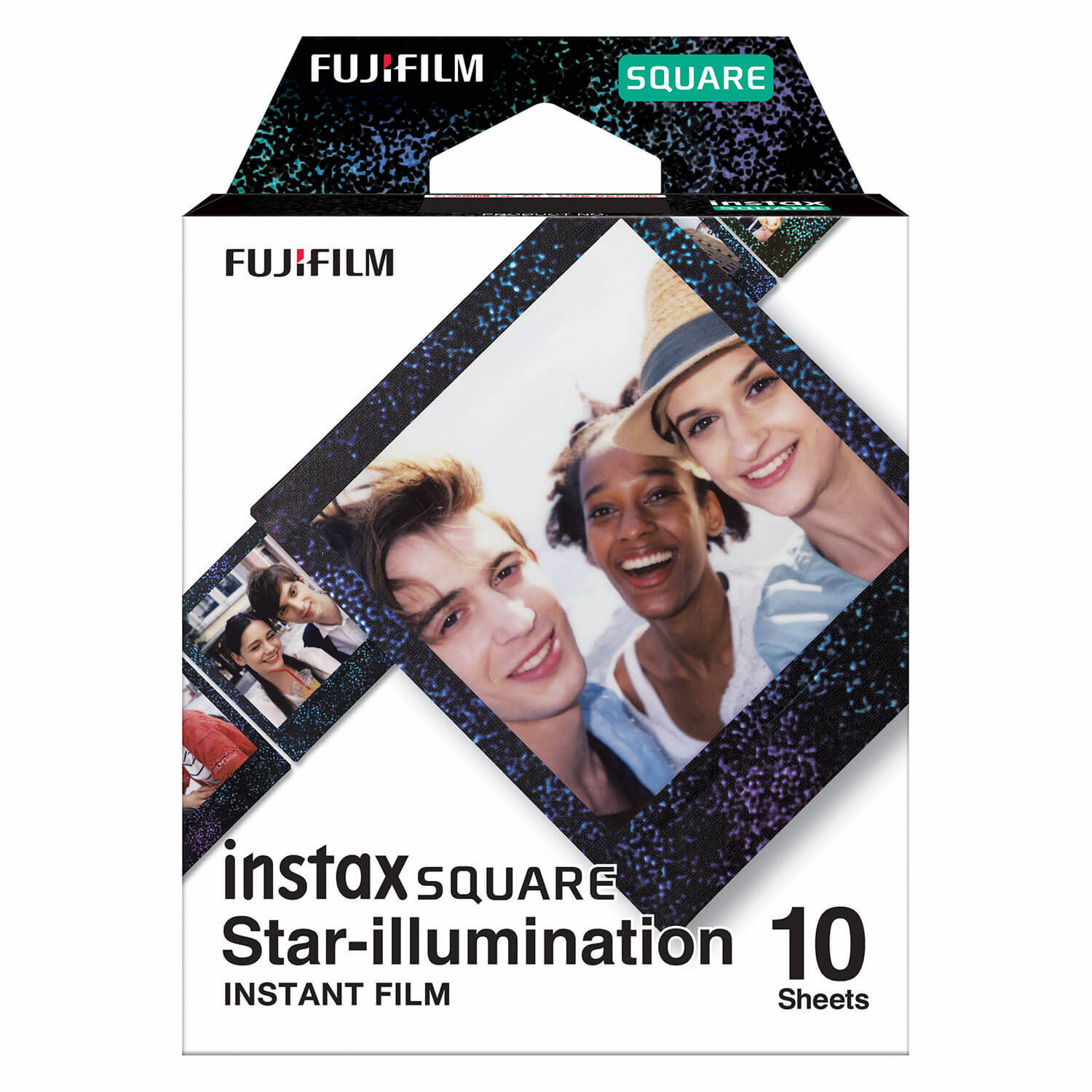 Fujifilm Instax Square Film Star Illumination 1-Pak