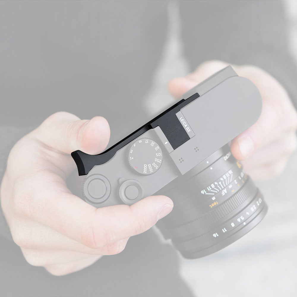 Leica Q2 Thumb Support Zwart