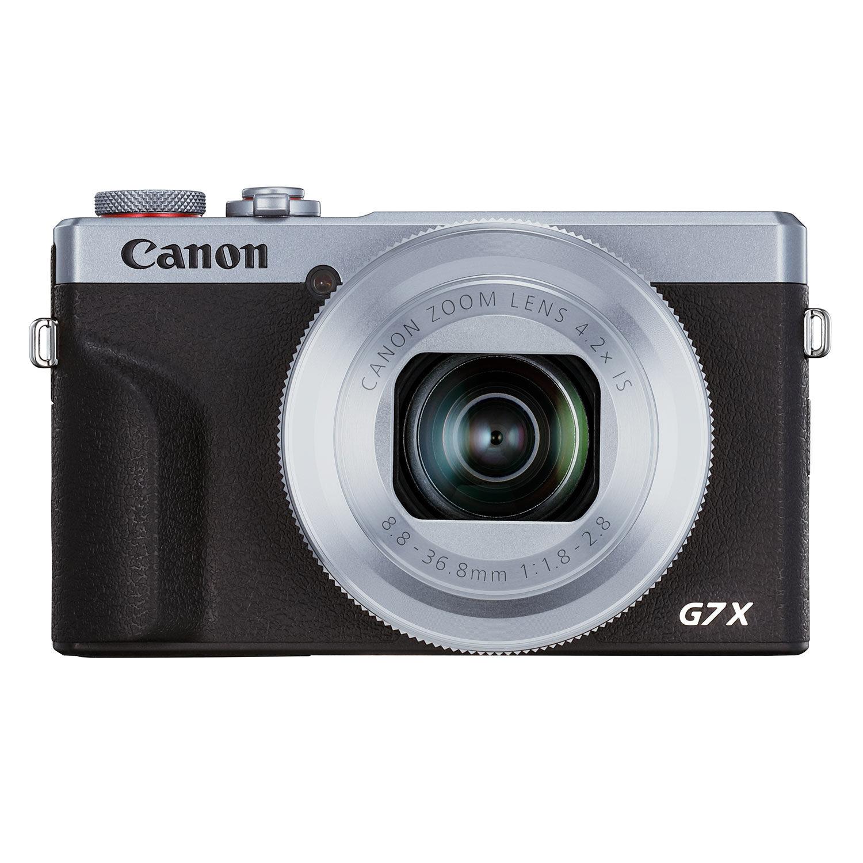 Canon PowerShot G7 X Mark III compact camera Zilver