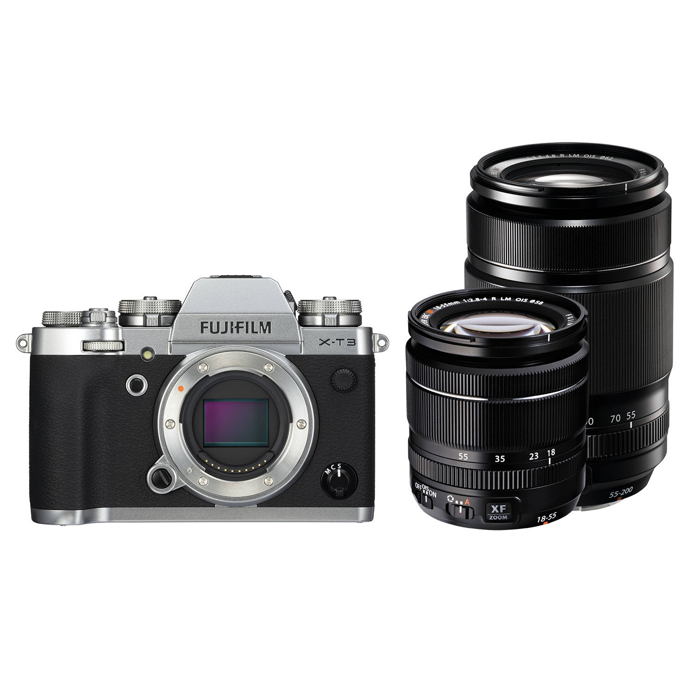 Fujifilm X-T3 systeemcamera Zwart + XF 18-55mm + XF 55-200mm <br/>€ 2499.00 <br/> <a href='https://www.cameranu.nl/fotografie/?tt=12190_474631_241358_&r=https%3A%2F%2Fwww.cameranu.nl%2Fnl%2Fp3045775%2Ffujifilm-x-t3-systeemcamera-zwart-xf-18-55mm-xf-55-200mm%3Fchannable%3De10841.MzA0NTc3NQ%26utm_campaign%3D%26utm_content%3DSysteemcamera%26utm_source%3DTradetracker%26utm_medium%3Dcpc%26utm_term%3DDigitale%2Bcamera%26apos%3Bs' target='_blank'>naar de winkel</a>