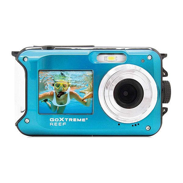 Easypix GoXtreme Reef onderwatercamera Blauw <br/>€ 89.99 <br/> <a href='https://www.cameranu.nl/fotografie/?tt=12190_474631_241358_&r=https%3A%2F%2Fwww.cameranu.nl%2Fnl%2Fp3039925%2Feasypix-goxtreme-reef-onderwatercamera-blauw%3Fchannable%3De10841.MzAzOTkyNQ%26utm_campaign%3D%26utm_content%3DOnderwatercamera%26utm_source%3DTradetracker%26utm_medium%3Dcpc%26utm_term%3DDigitale%2Bcamera%26apos%3Bs' target='_blank'>naar de winkel</a>