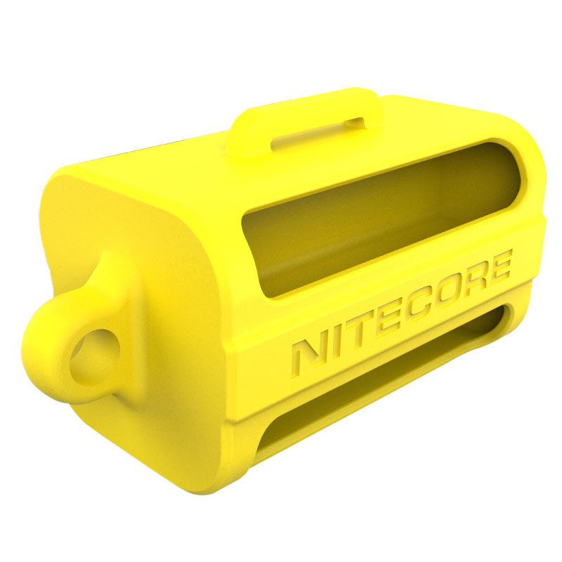 Nitecore NBM40 18650 Yellow Silicone Holder