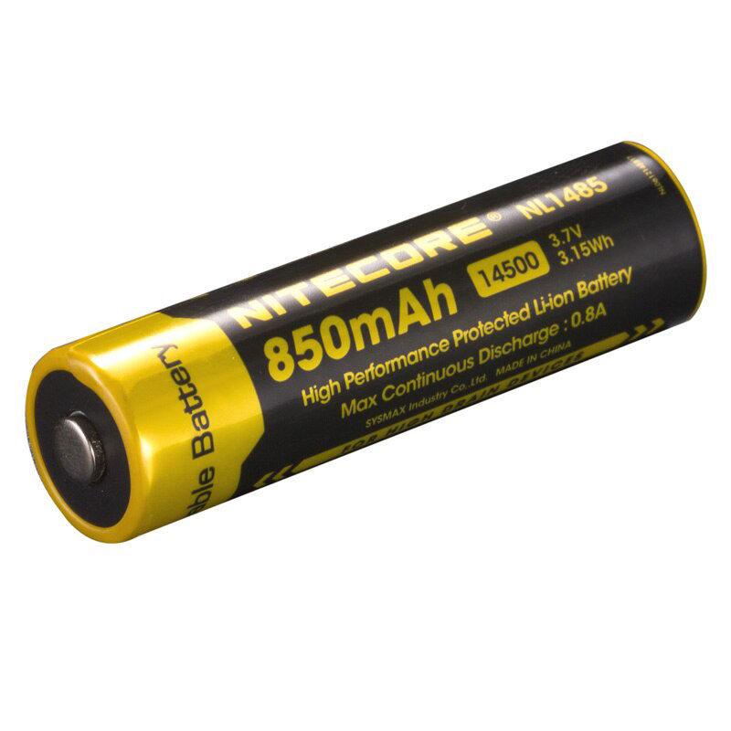 Nitecore NL1485 batterij 850mAh