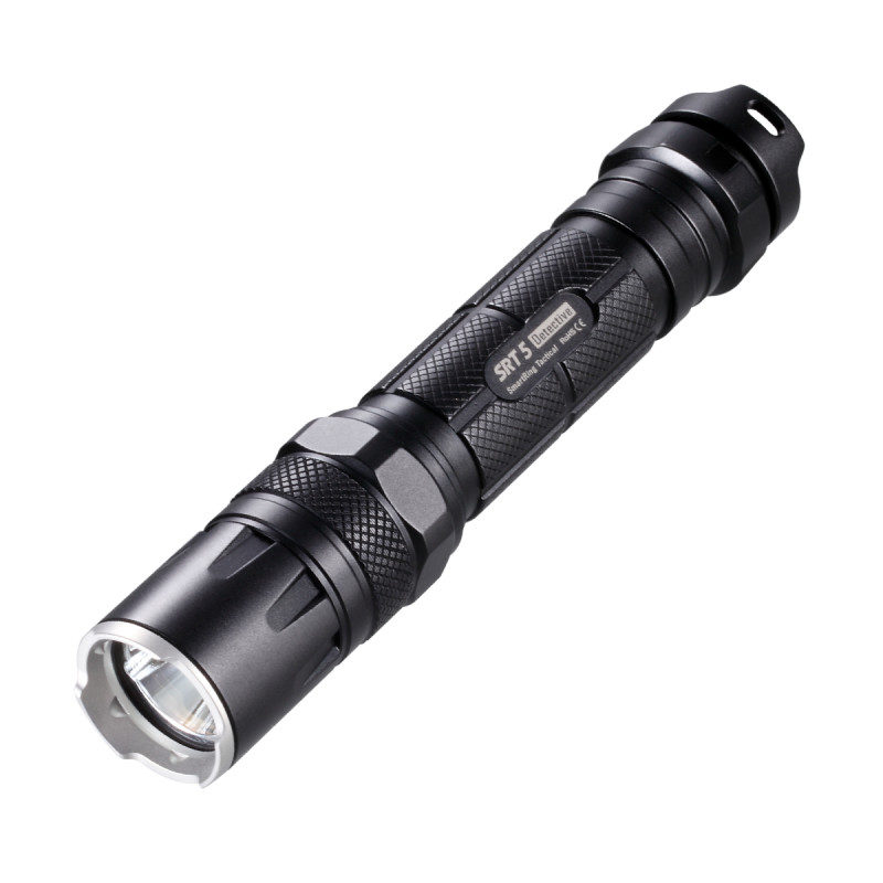 Nitecore SRT5 tactische LED-zaklamp Zwart