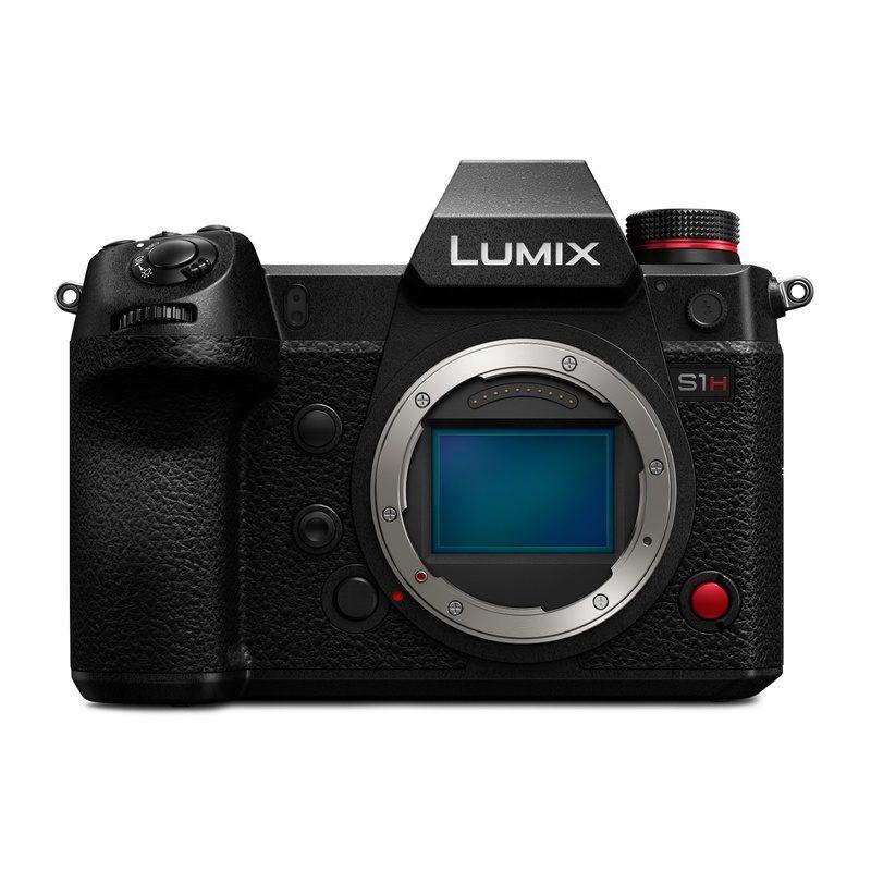 Panasonic Lumix DC-S1H systeemcamera Body Zwart
