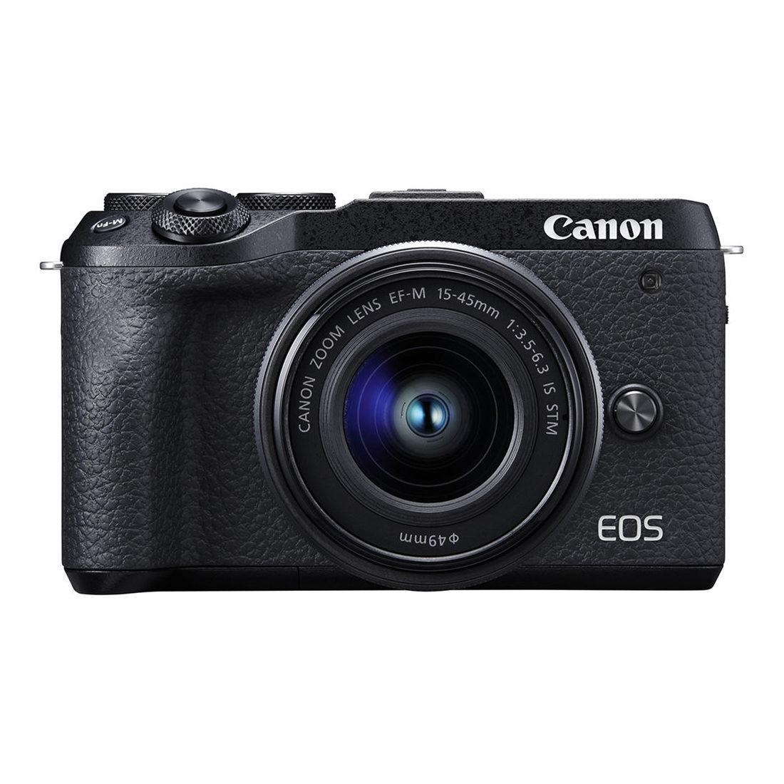 Canon EOS M6 Mark II systeemcamera + 15-45mm + EVF-DC2 <br/>€ 1098.00 <br/> <a href='https://www.cameranu.nl/fotografie/?tt=12190_474631_241358_&r=https%3A%2F%2Fwww.cameranu.nl%2Fnl%2Fp3071627%2Fcanon-eos-m6-mark-ii-systeemcamera-15-45mm-evf-dc2%3Fchannable%3De10841.MzA3MTYyNw%26utm_campaign%3D%26utm_content%3DEOS%2BM%2Bsysteemcamera%26utm_source%3DTradetracker%26utm_medium%3Dcpc%26utm_term%3DDigitale%2Bcamera%26apos%3Bs' target='_blank'>naar de winkel</a>