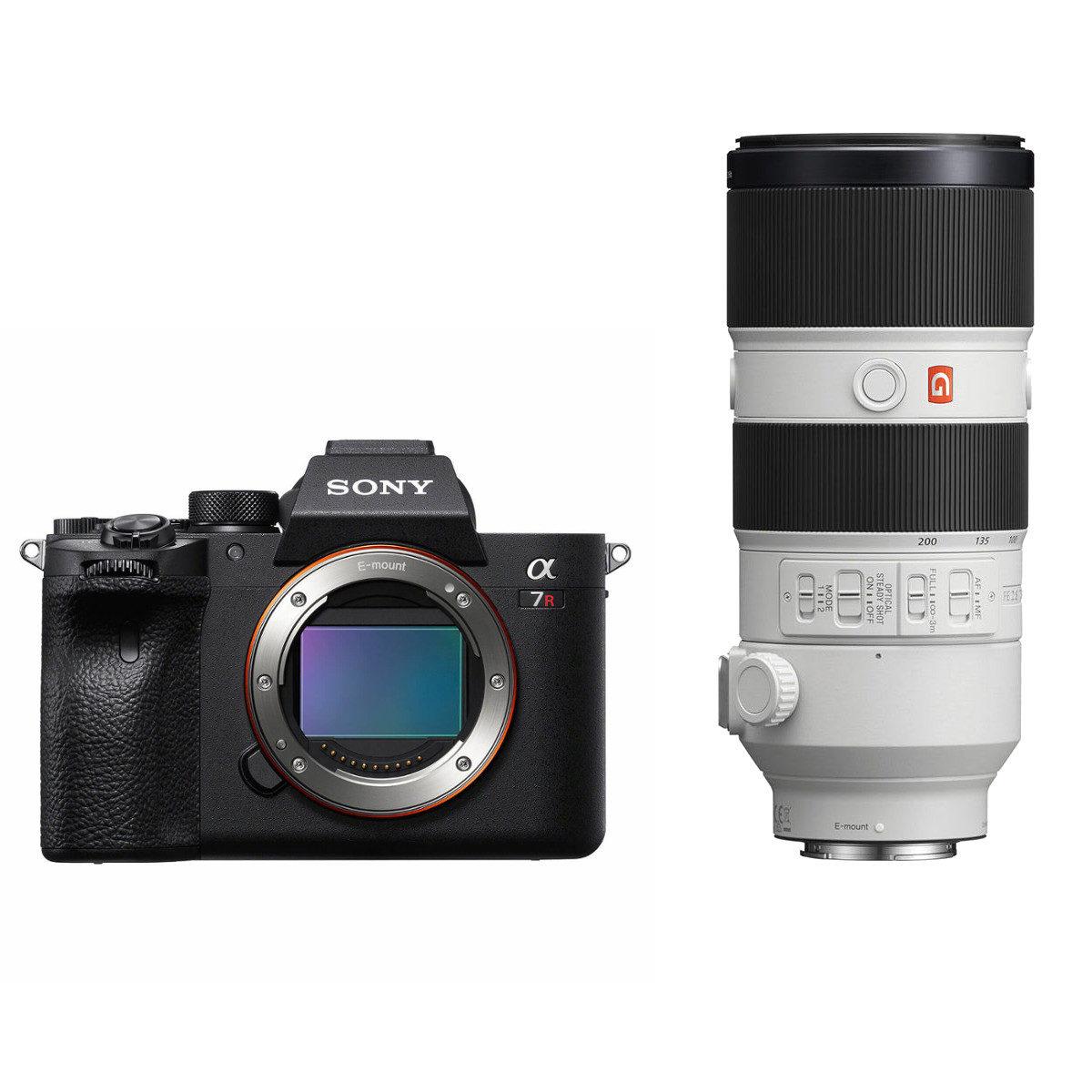 Sony Alpha A7R IV systeemcamera + 70-200mm f/2.8 GM