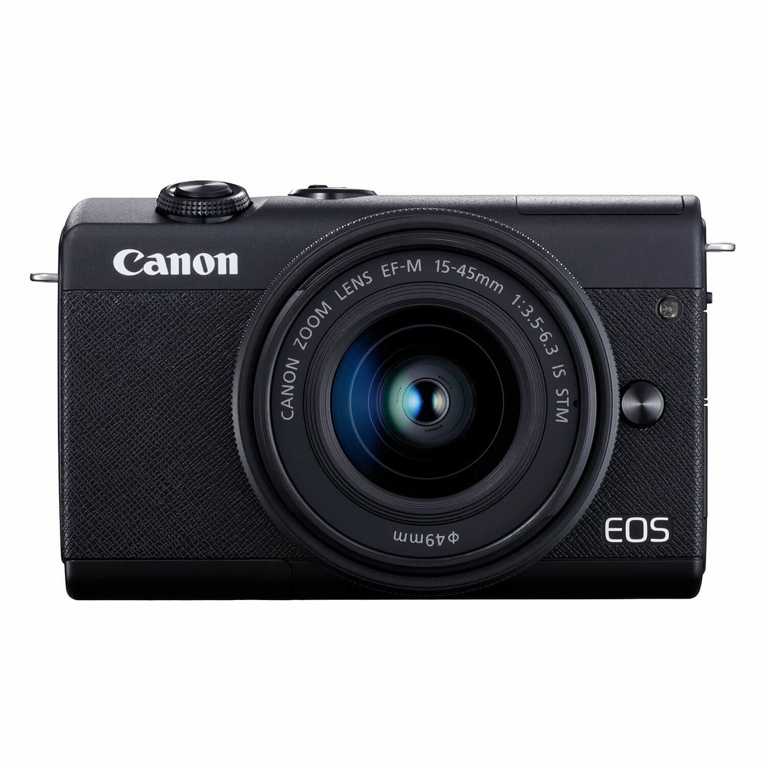 Canon EOS M200 systeemcamera Zwart + 15-45mm IS STM