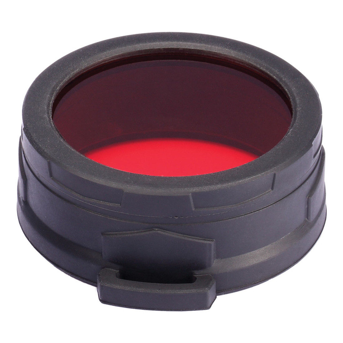 Nitecore NFR60 Highgrade filter Rood voor 60mm zaklamp