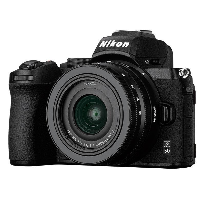 Nikon Z50 systeemcamera + 16-50mm f/3.5-6.3 VR