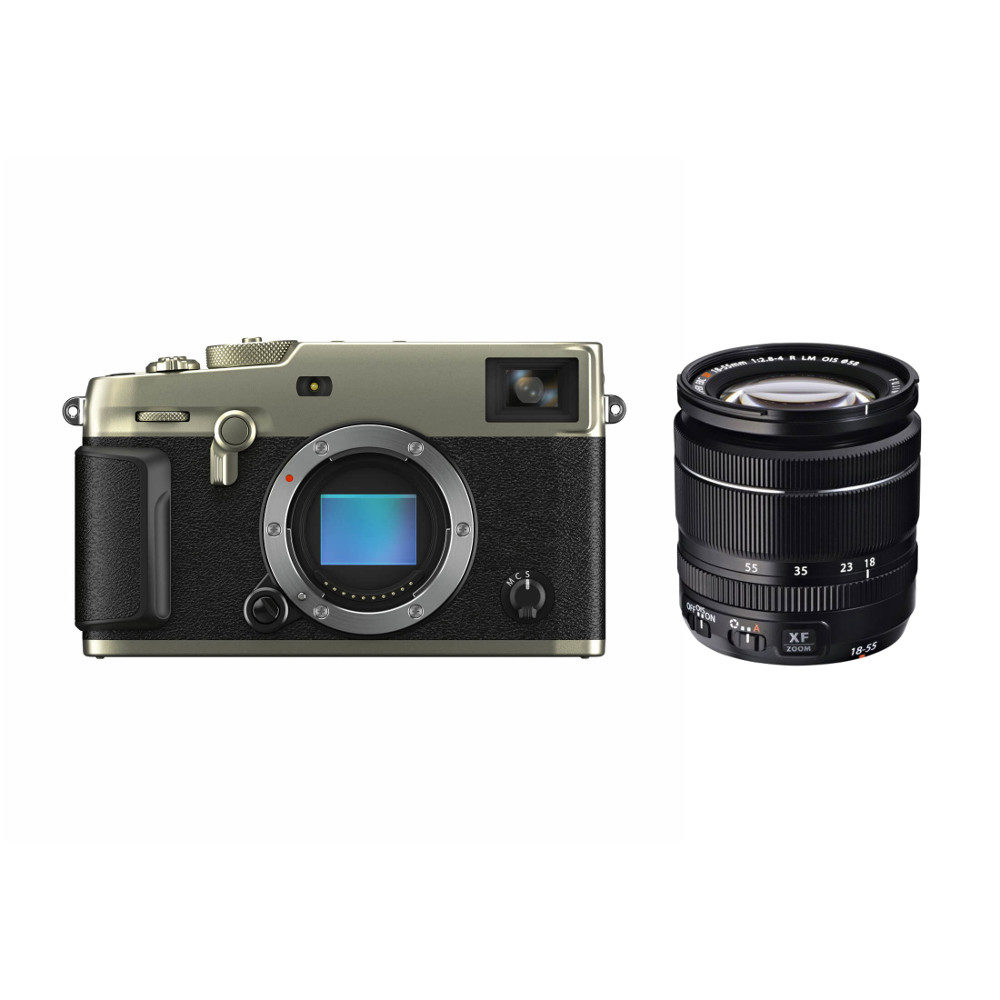 Fujifilm X-Pro3 Titan systeemcamera Dura Zilver + XF 18-55mm f/2.8-4.0 R LM