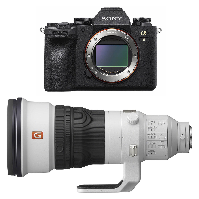 Sony Alpha A9 II systeemcamera + 400mm f/2.8 GM