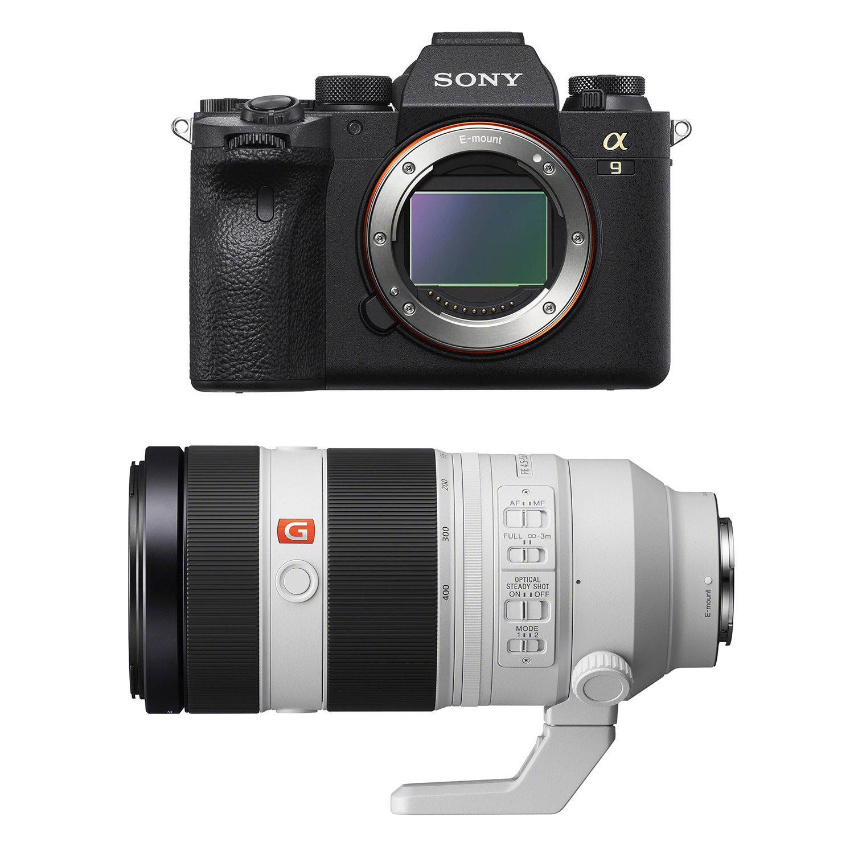 Sony Alpha A9 II systeemcamera + 100-400mm f/4.5-5.6 GM
