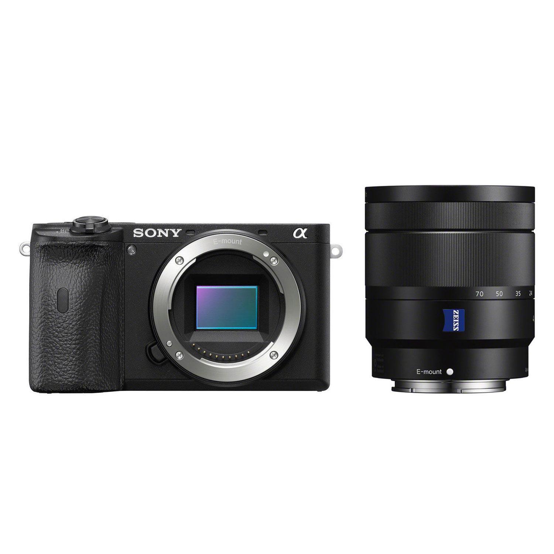 Sony Alpha A6600 systeemcamera Zwart + 16-70mm f/4.0
