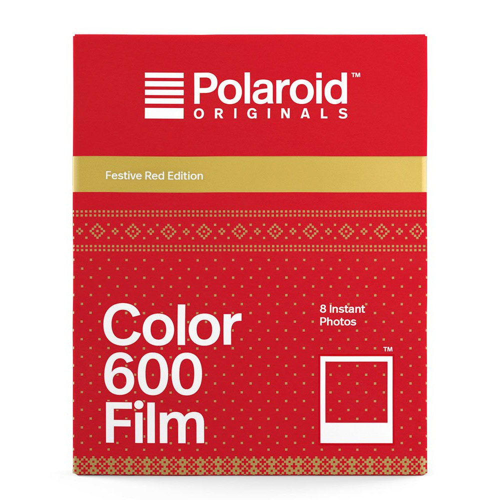 Polaroid Originals Color Film voor 600 Red Edition