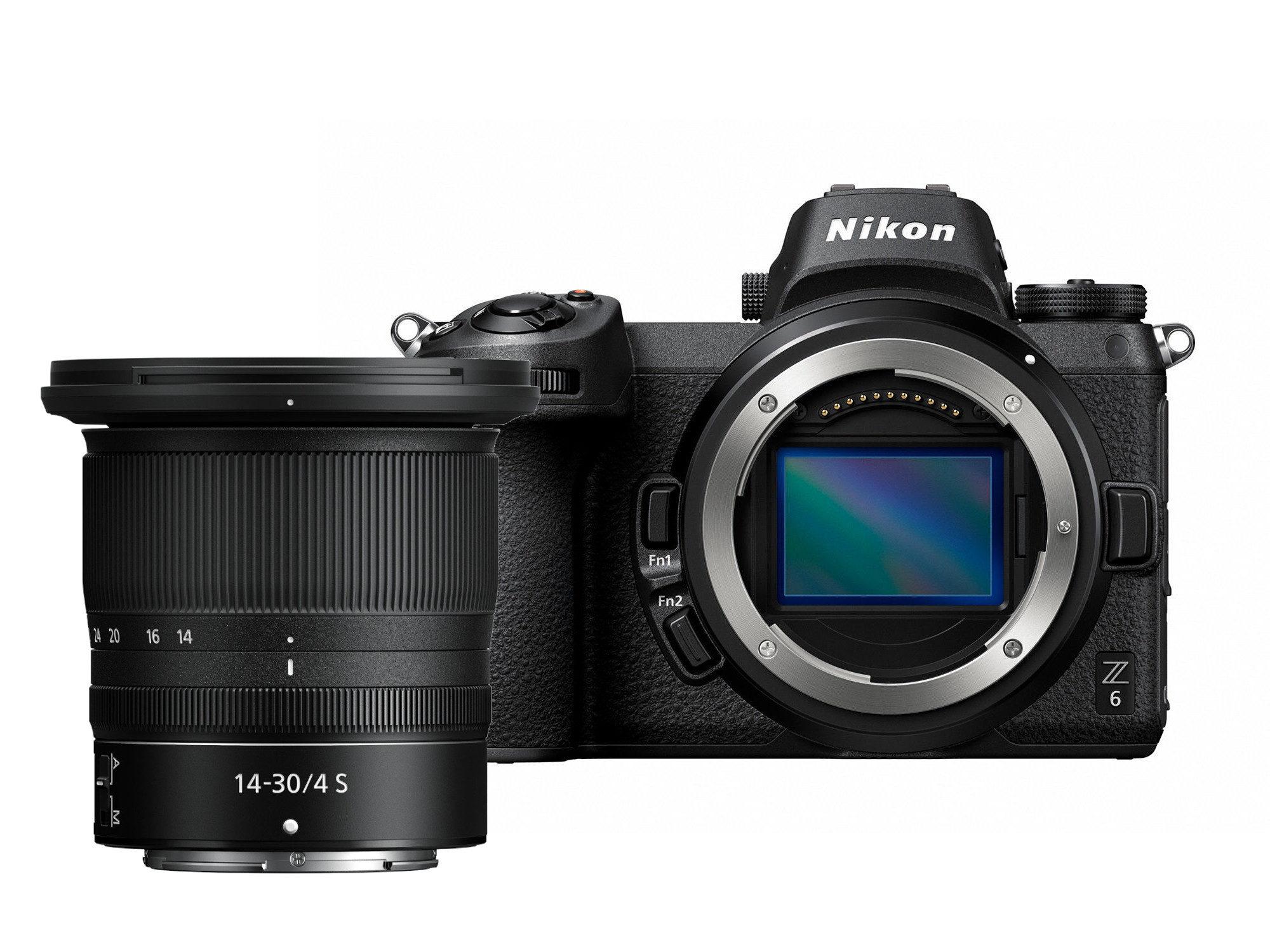 Nikon Z6 systeemcamera + 14-30mm f/4.0
