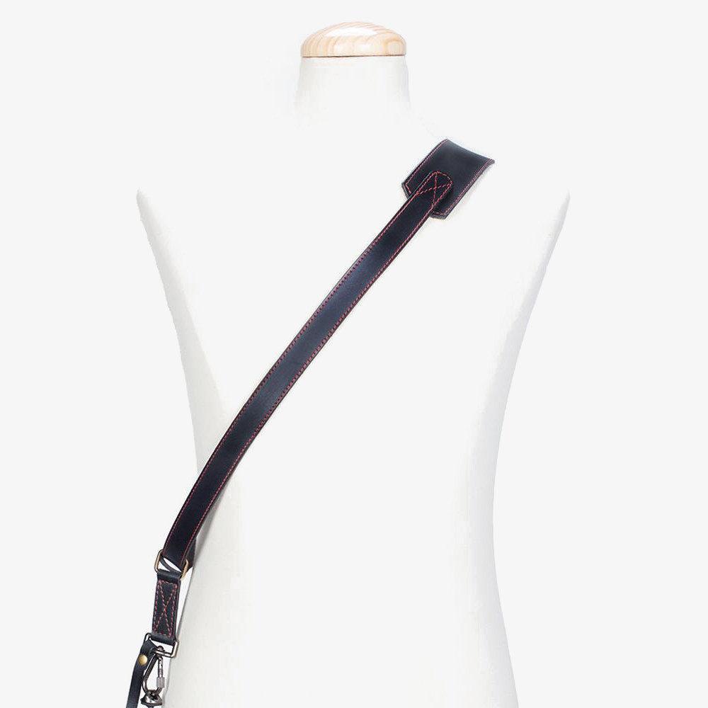 Bronkey Tokyo Sling Leather Camera Strap Large Zwart