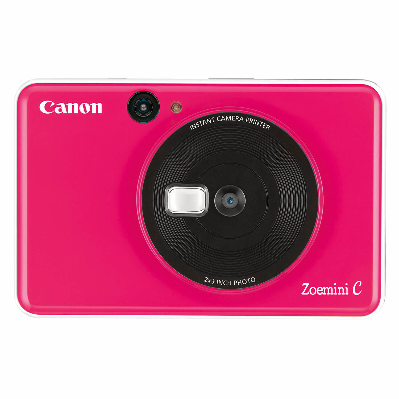 Canon Zoemini C instant camera Bubblegum Pink open-box