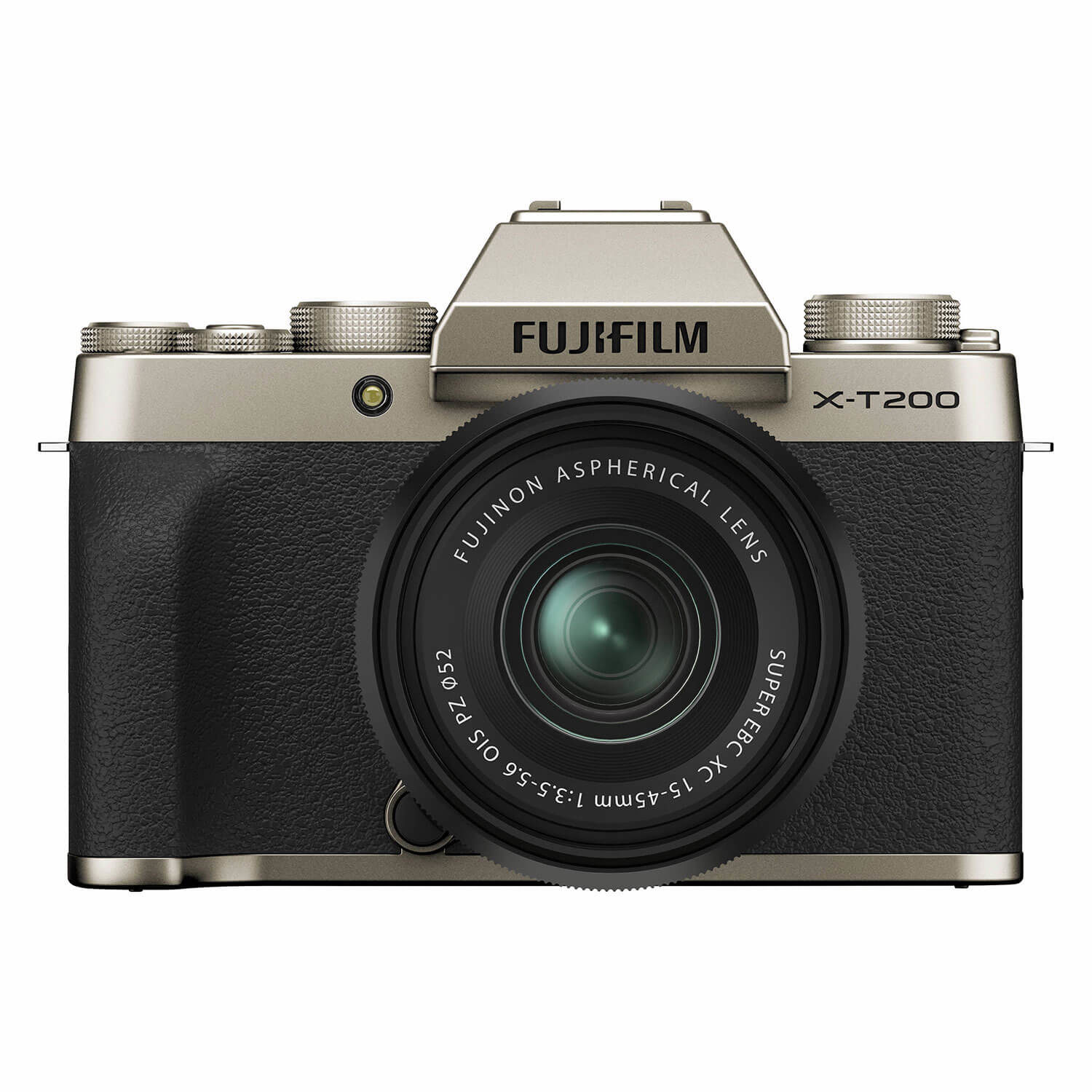 Fujifilm X-T200 systeemcamera Champagne Goud + XC 15-45mm