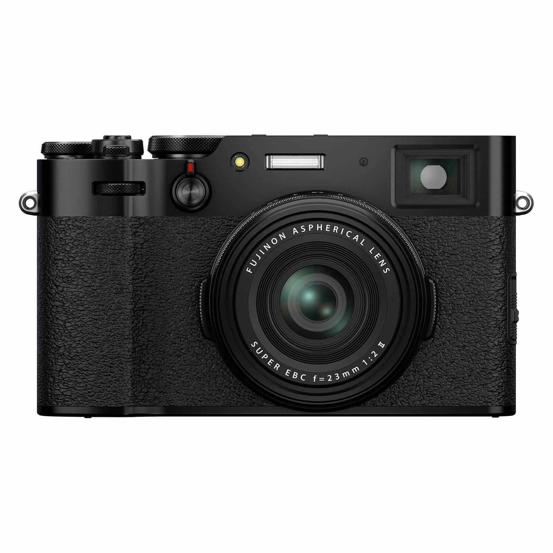 Fujifilm FinePix X100V compact camera Zwart