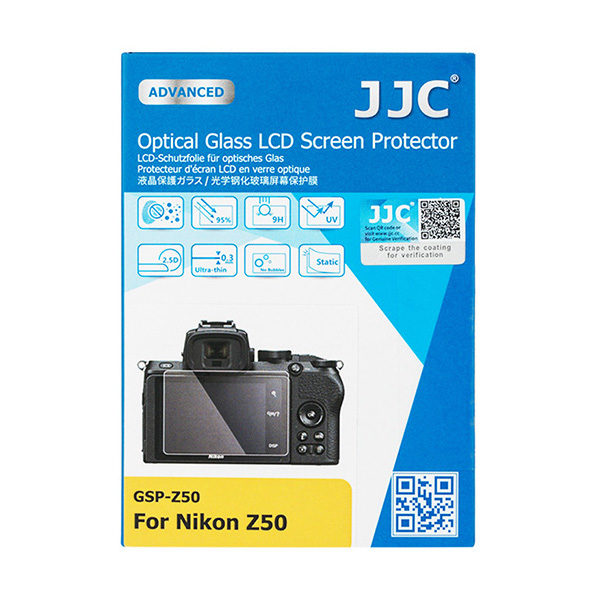 JJC GSP-Z50 Optical Glass protector voor Nikon Z50