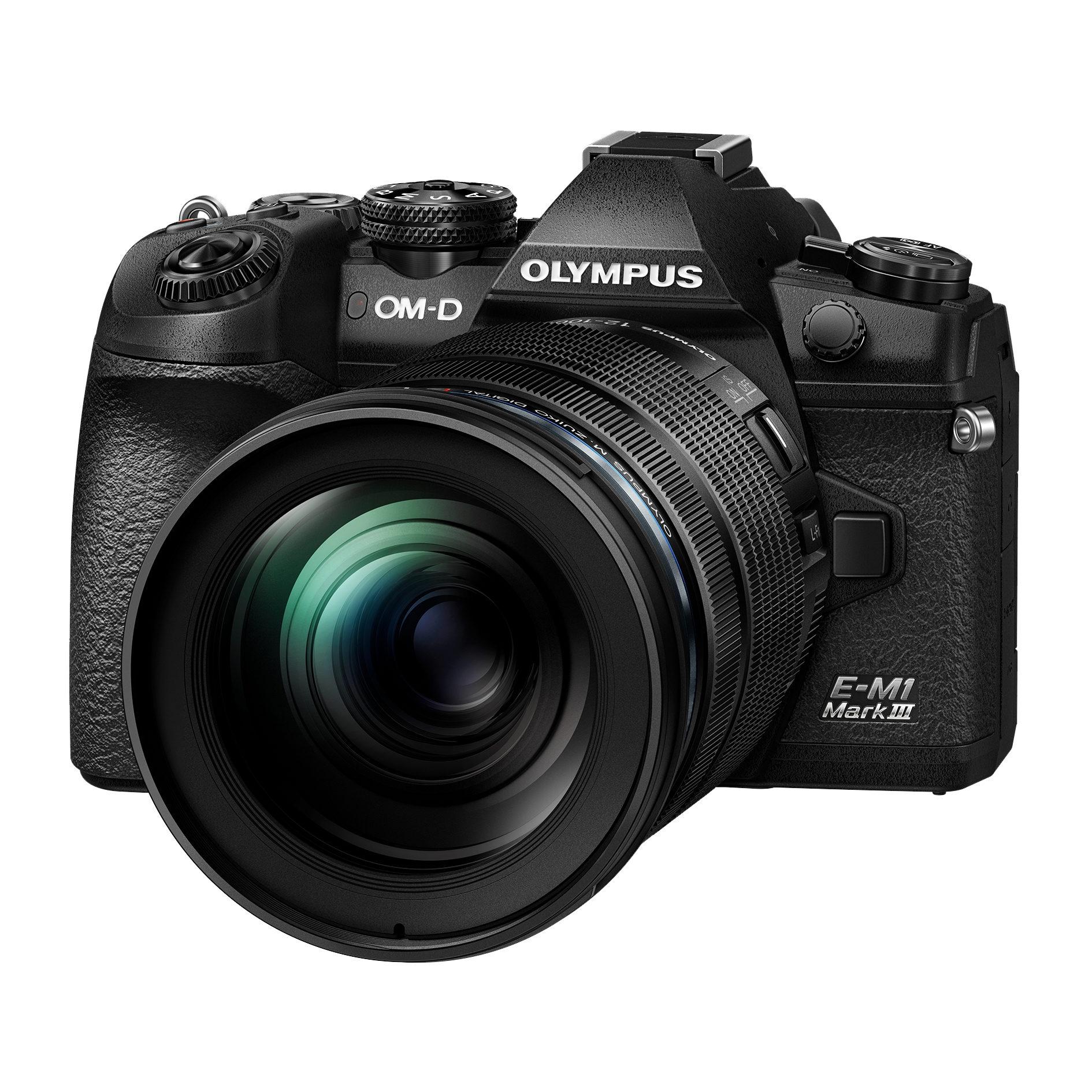 Olympus OM-D E-M1 Mark III systeemcamera Zwart + 12-100mm
