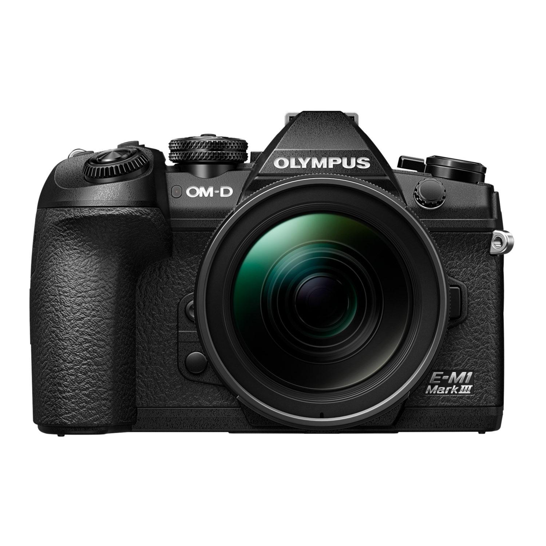 Olympus OM-D E-M1 Mark III systeemcamera Zwart + 12-40mm