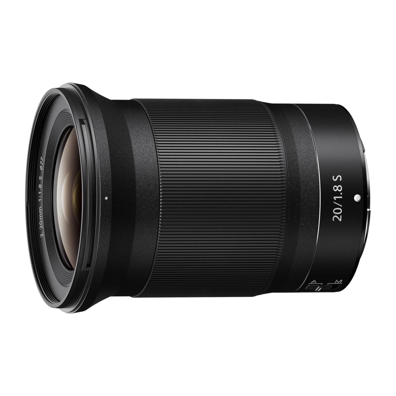 Nikon Z 20mm f/1.8 S objectief