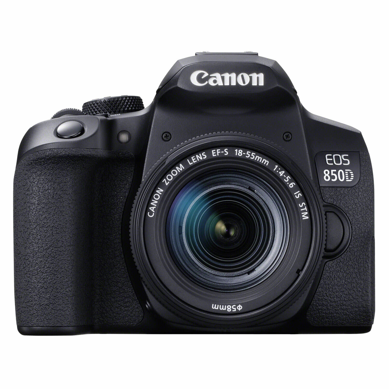Canon EOS 850D DSLR + 18-55mm f/4.0-5.6 IS STM