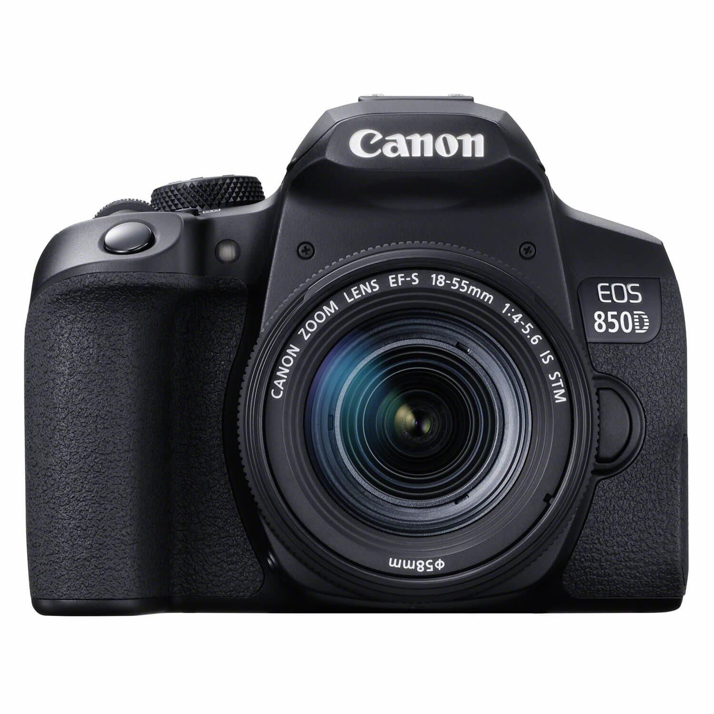 Canon EOS 850D DSLR + 18-55mm f/4.0-5.6 IS STM <br/>€ 1019.00 <br/> <a href='https://www.cameranu.nl/fotografie/?tt=12190_474631_241358_&r=https%3A%2F%2Fwww.cameranu.nl%2Fnl%2Fp3172602%2Fcanon-eos-850d-dslr-18-55mm-f-4-0-5-6-is-stm%3Fchannable%3De10841.MzE3MjYwMg%26utm_campaign%3D%26utm_content%3DEOS%2Bspiegelreflex%26utm_source%3DTradetracker%26utm_medium%3Dcpc%26utm_term%3DDigitale%2Bcamera%26apos%3Bs' target='_blank'>naar de winkel</a>