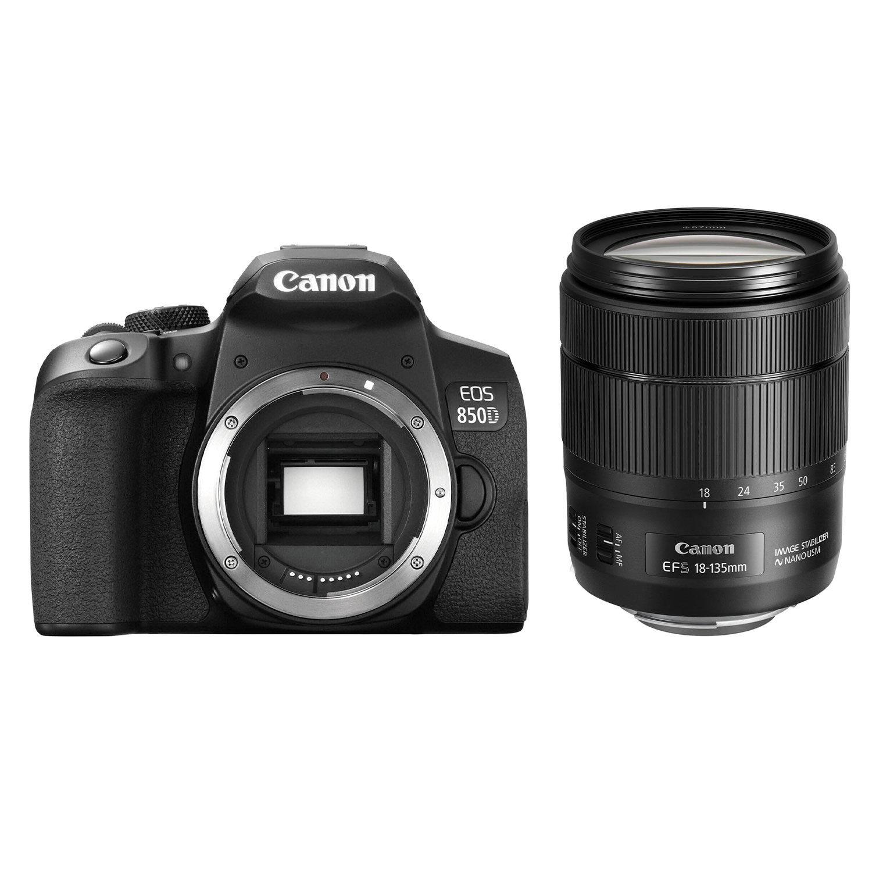Canon EOS 850D DSLR + 18-135mm IS STM <br/>€ 1258.00 <br/> <a href='https://www.cameranu.nl/fotografie/?tt=12190_474631_241358_&r=https%3A%2F%2Fwww.cameranu.nl%2Fnl%2Fp3172672%2Fcanon-eos-850d-dslr-18-135mm-is-stm%3Fchannable%3De10841.MzE3MjY3Mg%26utm_campaign%3D%26utm_content%3DEOS%2Bspiegelreflex%26utm_source%3DTradetracker%26utm_medium%3Dcpc%26utm_term%3DDigitale%2Bcamera%26apos%3Bs' target='_blank'>naar de winkel</a>