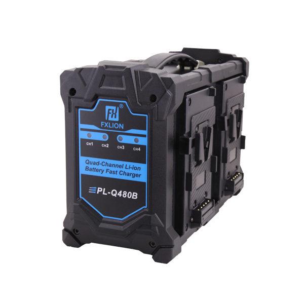Fxlion PL-Q480B V-lock quad quick charger