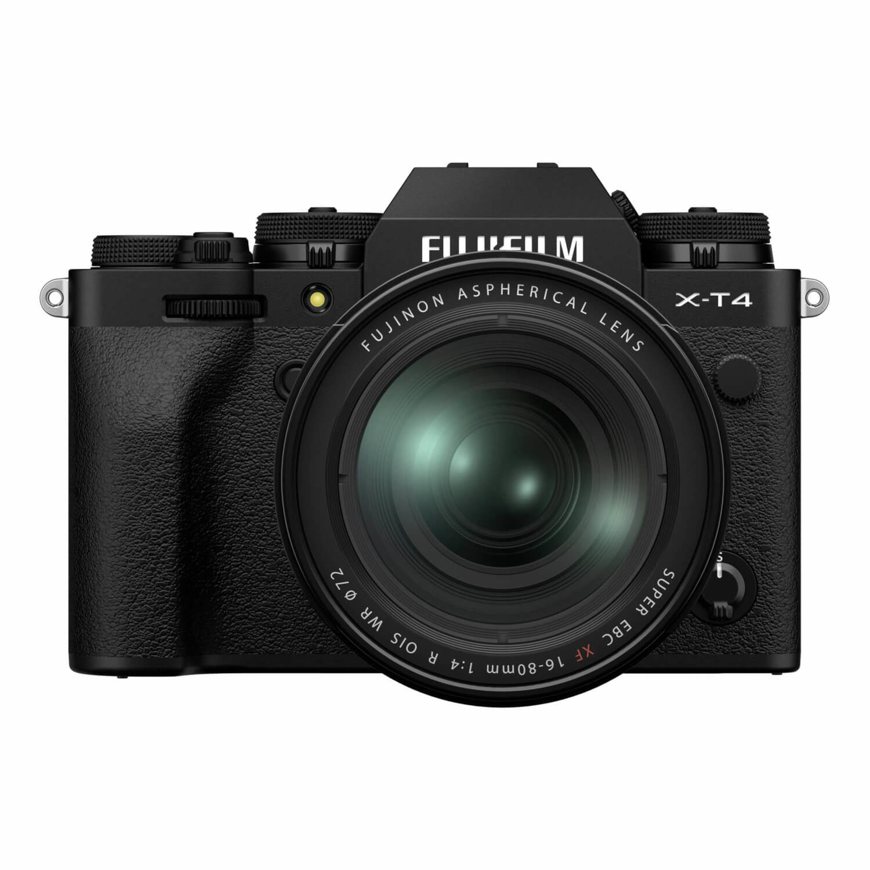 Fujifilm X-T4 systeemcamera Zwart + XF 16-80 f/4.0 R