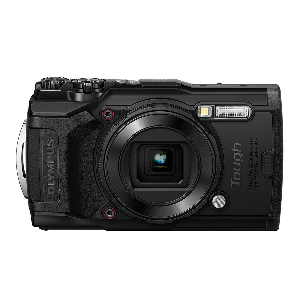 Tough TG-6 compact camera Zwart