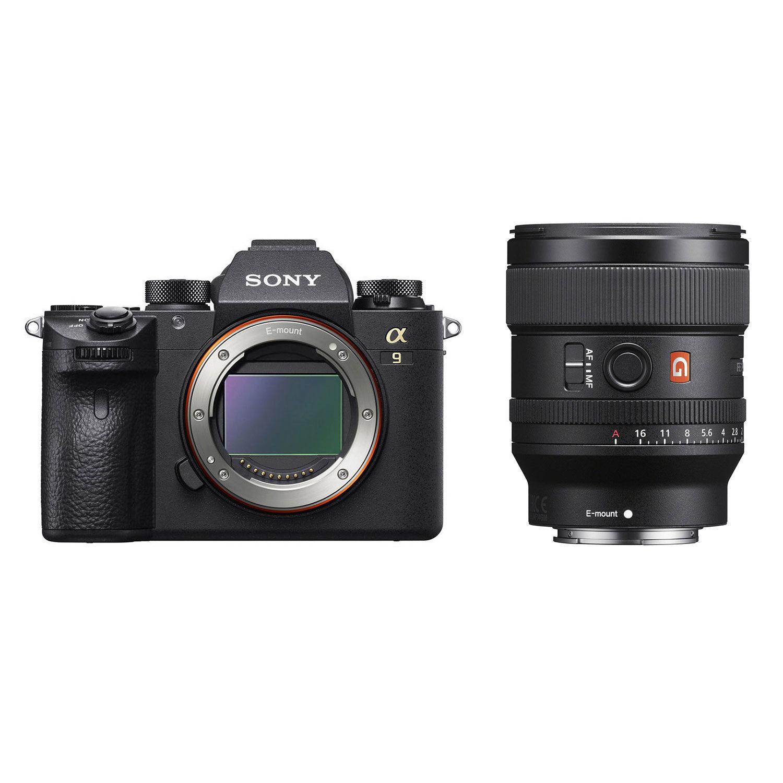 Sony Alpha A9 systeemcamera + 24mm f/1.4 GM