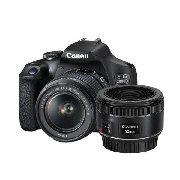 Canon EOS 2000D DSLR + 18-55mm IS II + 50mm f/1.8 STM <br/>€ 469.00 <br/> <a href='https://www.cameranu.nl/fotografie/?tt=12190_474631_241358_&r=https%3A%2F%2Fwww.cameranu.nl%2Fnl%2Fp2352585%2Fcanon-eos-2000d-dslr-18-55mm-is-ii-50mm-f-1-8-stm%3Fchannable%3De10841.MjM1MjU4NQ%26utm_campaign%3D%26utm_content%3DEOS%2Bspiegelreflex%26utm_source%3DTradetracker%26utm_medium%3Dcpc%26utm_term%3DDigitale%2Bcamera%26apos%3Bs' target='_blank'>naar de winkel</a>
