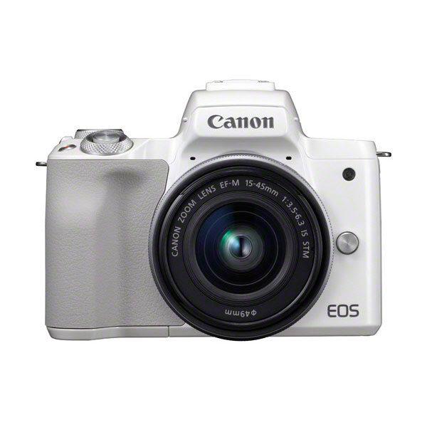 Canon EOS M50 systeemcamera Wit + 15-45mm IS STM Zilver <br/>€ 619.00 <br/> <a href='https://www.cameranu.nl/fotografie/?tt=12190_474631_241358_&r=https%3A%2F%2Fwww.cameranu.nl%2Fnl%2Fp2352735%2Fcanon-eos-m50-systeemcamera-wit-15-45mm-is-stm-zilver%3Fchannable%3De10841.MjM1MjczNQ%26utm_campaign%3D%26utm_content%3DEOS%2BM%2Bsysteemcamera%26utm_source%3DTradetracker%26utm_medium%3Dcpc%26utm_term%3DDigitale%2Bcamera%26apos%3Bs' target='_blank'>naar de winkel</a>