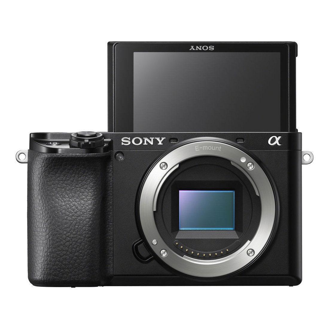 Sony Alpha A6100 systeemcamera Zwart + 18-105mm f/4.0