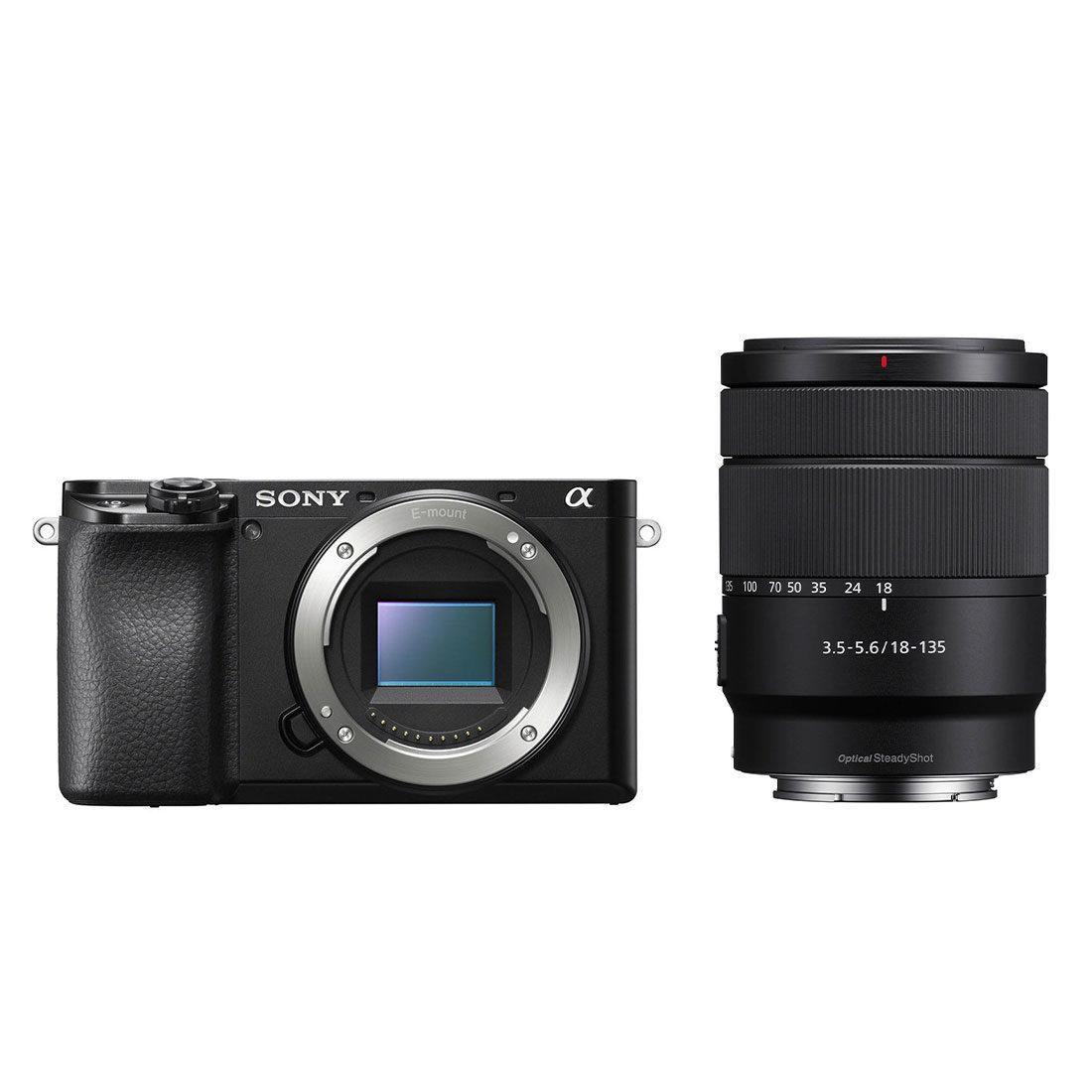 Sony Alpha A6100 systeemcamera Zwart + 18-135mm f/3.5-6.3 <br/>€ 1169.00 <br/> <a href='https://www.cameranu.nl/fotografie/?tt=12190_474631_241358_&r=https%3A%2F%2Fwww.cameranu.nl%2Fnl%2Fp3194862%2Fsony-alpha-a6100-systeemcamera-zwart-18-135mm-f-3-5-6-3%3Fchannable%3D002a5969640033313934383632b7%26utm_campaign%3D%26utm_content%3DSony%2Bsysteemcamera%26utm_source%3DTradetracker%26utm_medium%3Dcpc%26utm_term%3DDigitale%2Bcamera%26apos%3Bs' target='_blank'>naar de winkel</a>