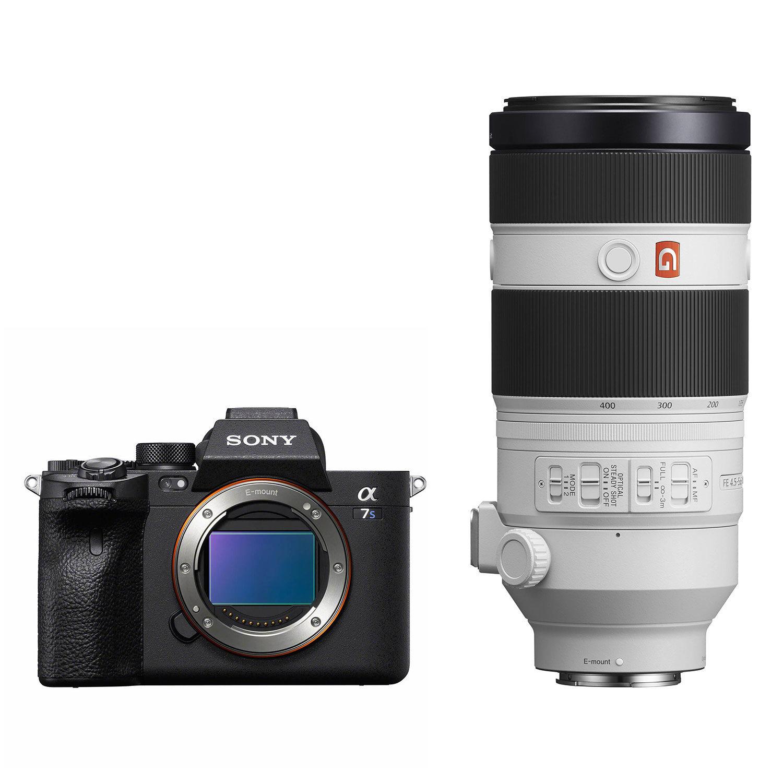Sony Alpha A7S III systeemcamera + 100-400mm f/4.5-5.6 GM