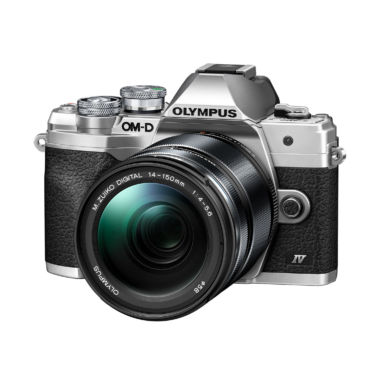 Olympus OM-D E-M10 Mark IV systeemcamera Zilver +14-150mm II <br/>€ 999.00 <br/> <a href='https://www.cameranu.nl/fotografie/?tt=12190_474631_241358_&r=https%3A%2F%2Fwww.cameranu.nl%2Fnl%2Fp3202872%2Folympus-om-d-e-m10-mark-iv-systeemcamera-zilver-14-150mm-ii%3Fchannable%3D002a5969640033323032383732ef%26utm_campaign%3D%26utm_content%3DOM-D%2Bserie%26utm_source%3DTradetracker%26utm_medium%3Dcpc%26utm_term%3DDigitale%2Bcamera%26apos%3Bs' target='_blank'>naar de winkel</a>