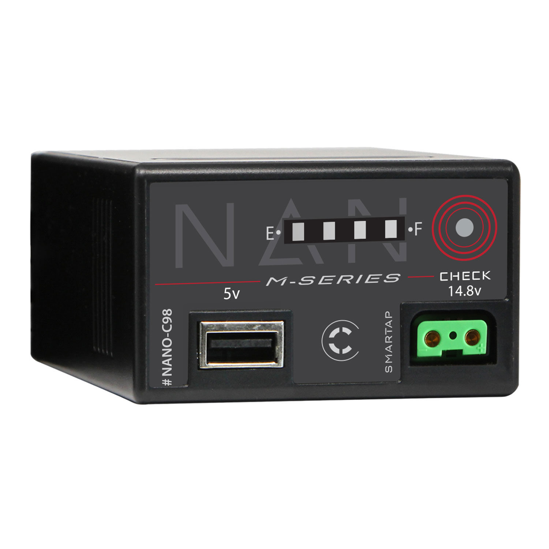 Core SWX Nano-C98 14.8V Batterij met D-Tap voor Canon C300 Mark III/C500 Mark II